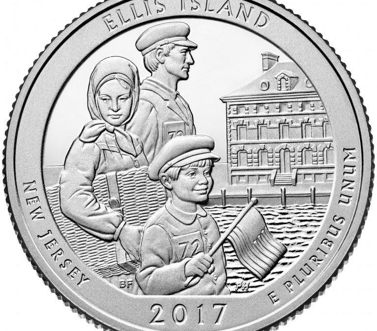 United State Mint Releases Ellis Island Quarter for Sale