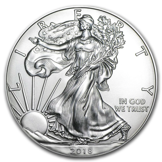 Newly Released 2018 American Silver Eagles