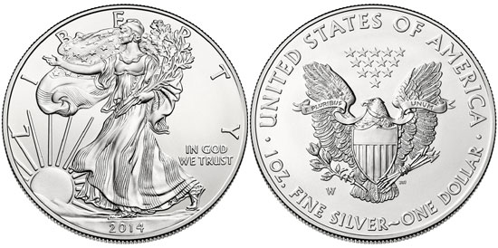 The 2019 American Silver Eagle:   Available Now!!